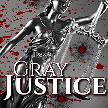 Gray Justice Screen Treatments