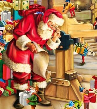 FOR EVERY CHILD. HOW SANTA CLAUS GOT HIS ELVES!