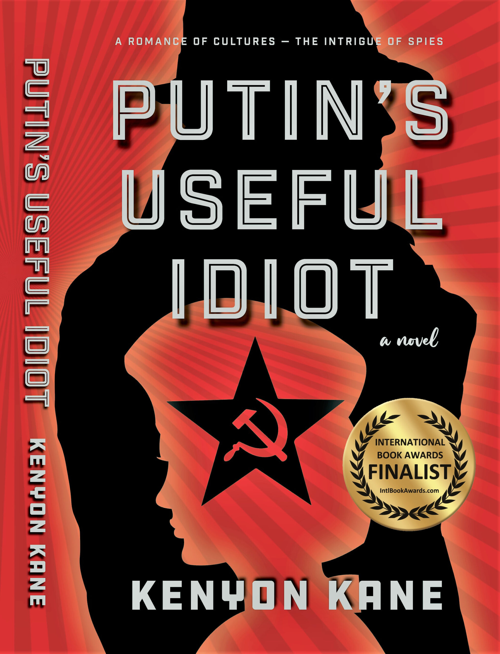 Putin's Useful Idiot cover with IBA Finalist sticker
